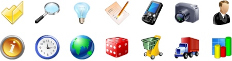 Stock Icons for Vista