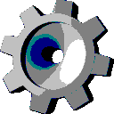 A 32-bit icon displayed in 16 colours