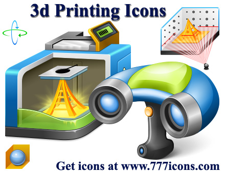 3d Printer Icons