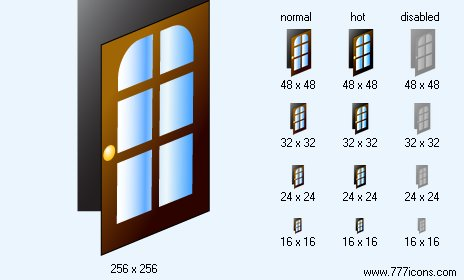 Open Image Icon Open Door Icon Images