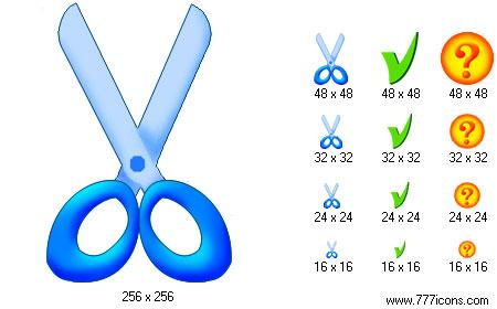 Artistic Toolbar Icons