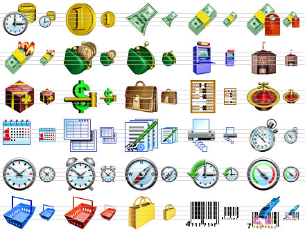 Click to view Business Software Icons 2008.5 screenshot