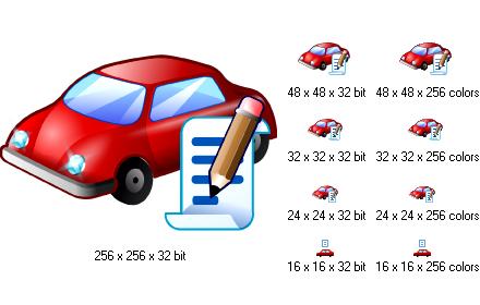 Car Icon Collection 32x32