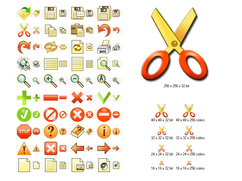Click to view Fire Toolbar Icons 2011.1 screenshot