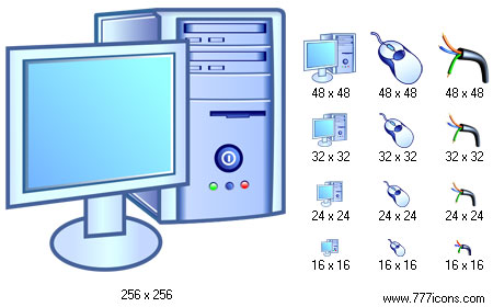 Hardware Icon Library Screenshot