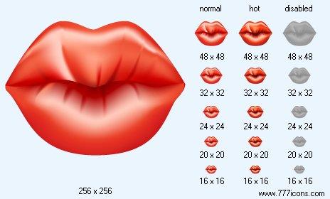 kiss of love set: