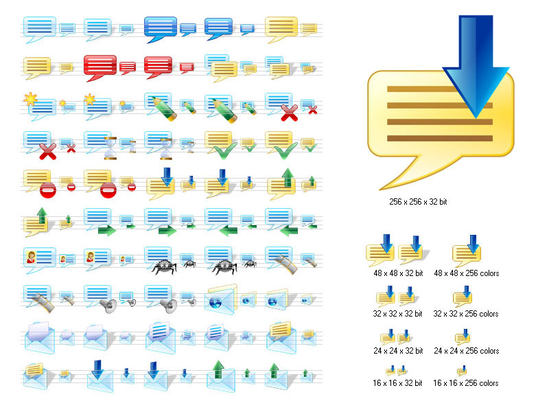 Click to view Messenger Icons for Vista screenshots