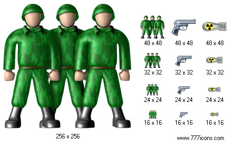 Military Icon Set