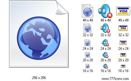 Online Icon Set