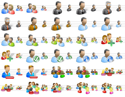 People Icons for Vista 2013.1 full