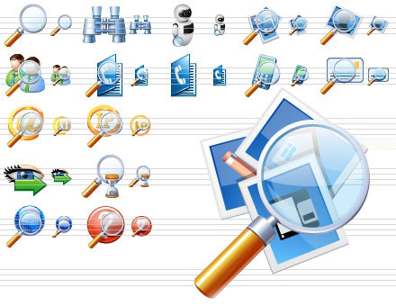 Click to view Search Icon Library screenshots