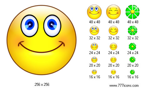 Smile Icon Set Screenshot