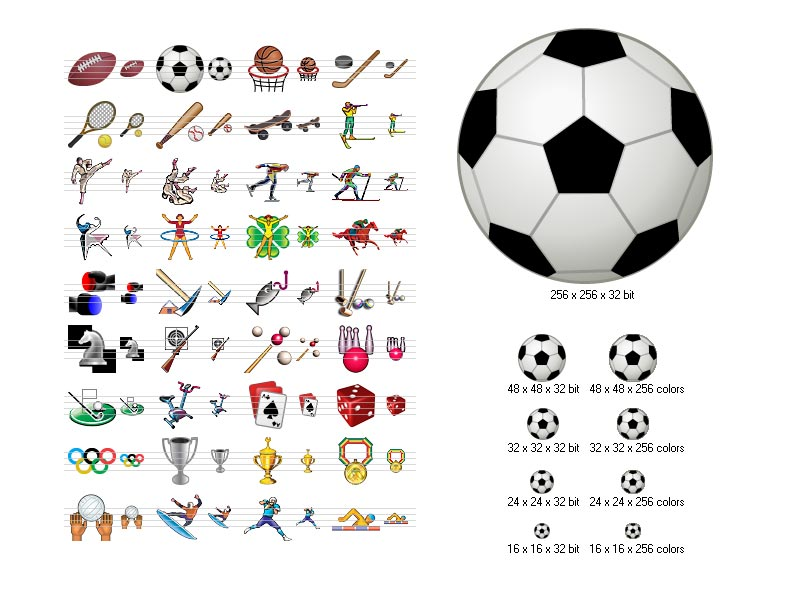 Sport Icons full screenshot