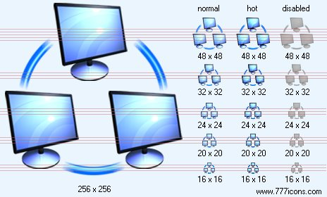 Computer Toolbar Icons Computer Network Icon Images