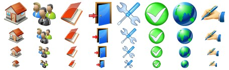 Vista and Windows 7 toolbar icons